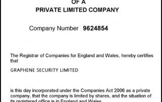 Graphene security company